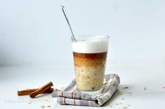 havermout cappuccino ontbijt
