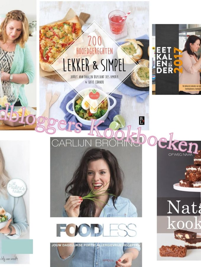 10x foodbloggers kookboeken 2016 voor kerst