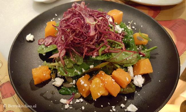 Reisblog: Lekker eten in Barcelona Pompoensalade bij Elsa y Fred