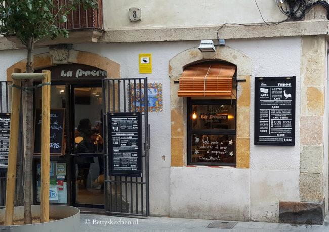 Reisblog: Lekker eten in Barcelona La Fresca Barcelona