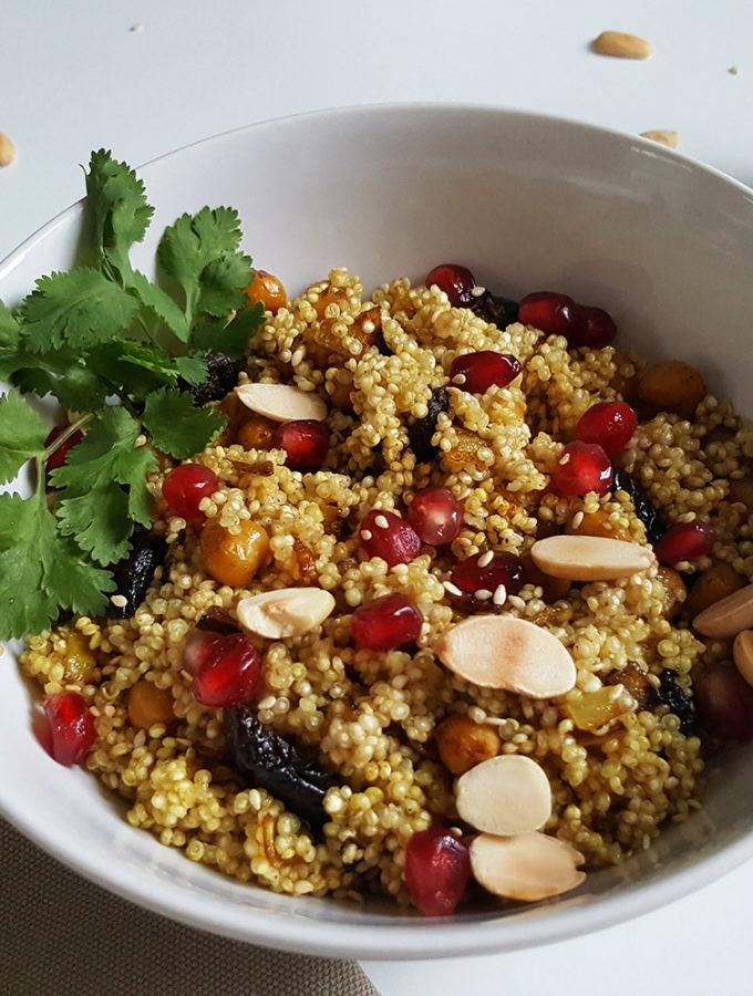 Marokkaanse quinoabowl
