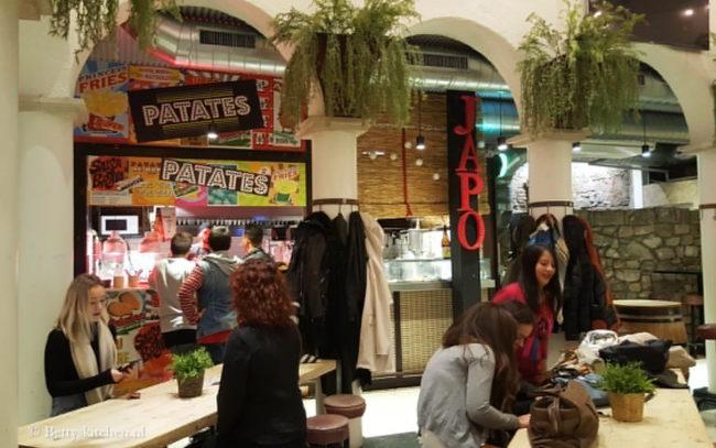 Reisblog: Lekker eten in Barcelona Inrichting Mercat Princesa