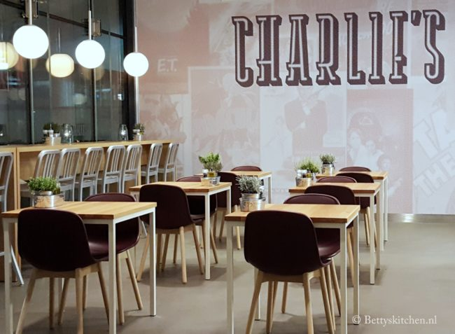 Charlie's Rotterdam Pathe schouwburgplein bioscoop concept restaurant