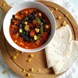 Mexicaans stoofpotje vol groenten