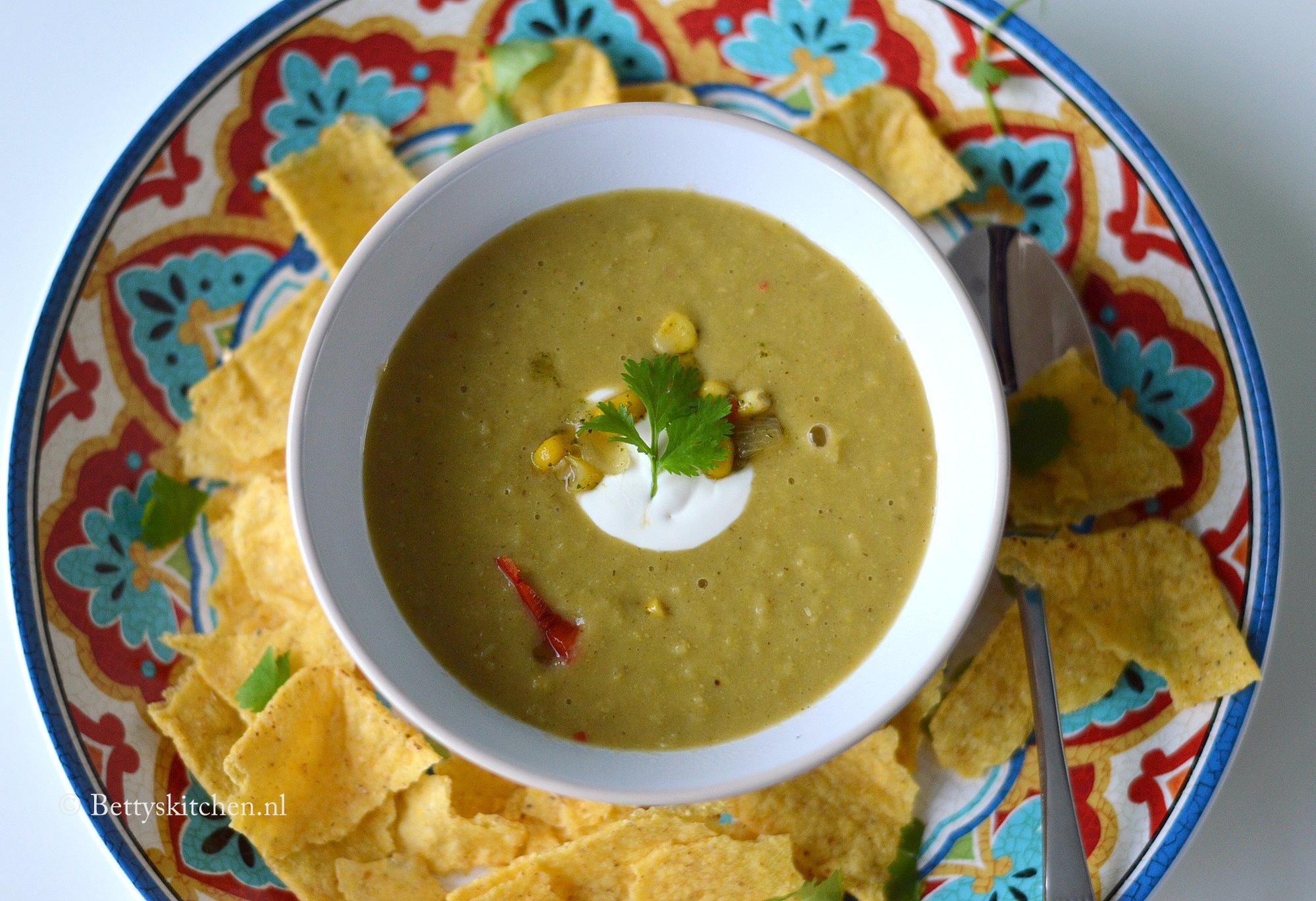 Mexicaanse Maissoep met