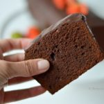 dubbele chocoladecake tegen blue monday