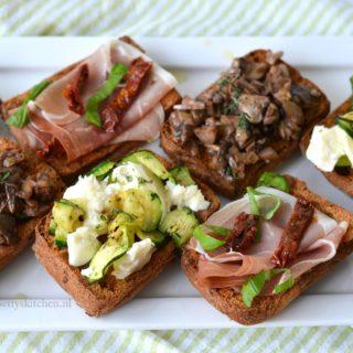 3x Bruschetta recepten (glutenvrij) schar