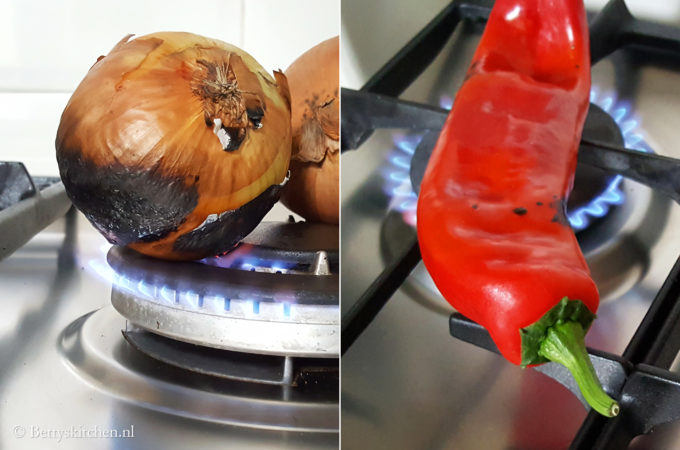 How-to: uien en paprika roosteren