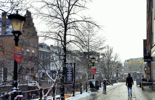 Fotodagboek Februari 2017 utrecht winter wonderland oude gracht
