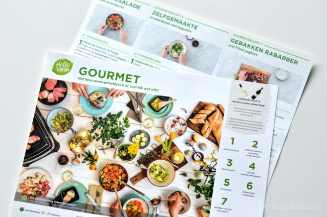 HelloFresh Paasbox - Gourmet review