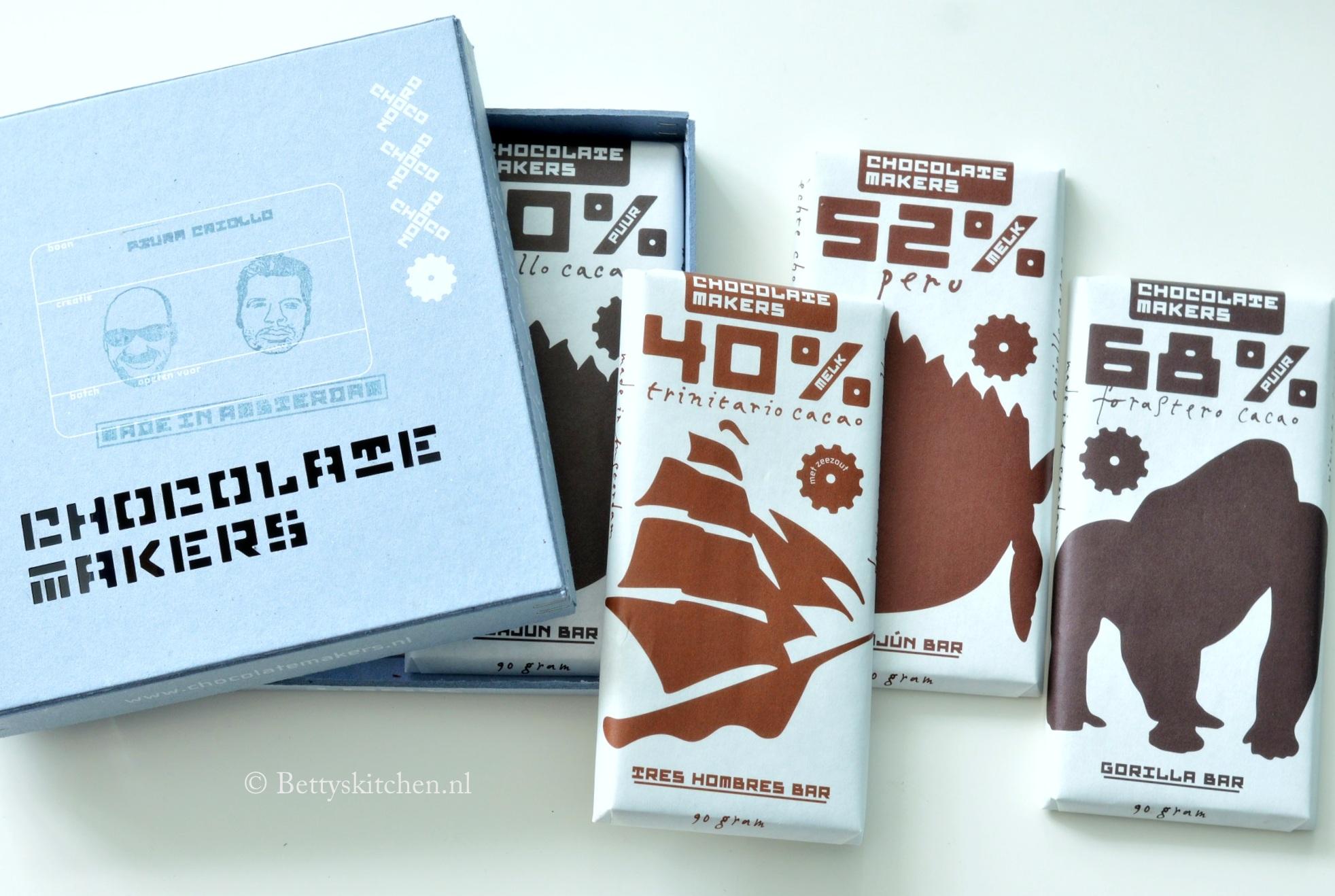 Chocolatemakers chocoladerepen + WINACTIE