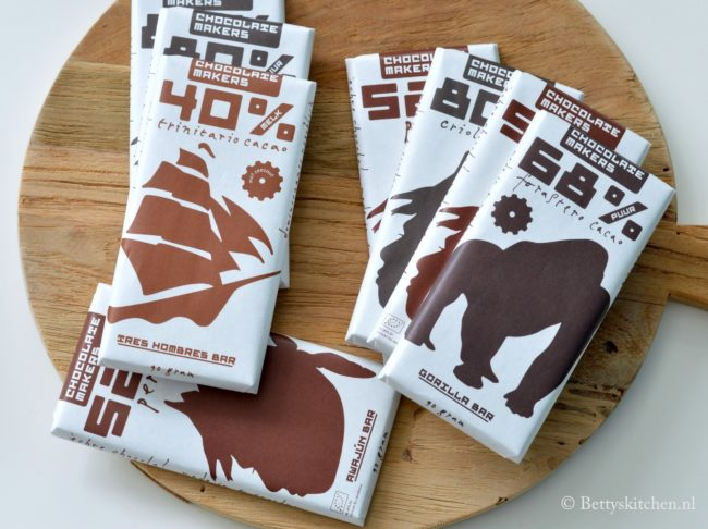 winactie chocolatemakers chocolade repen betty's kitchen