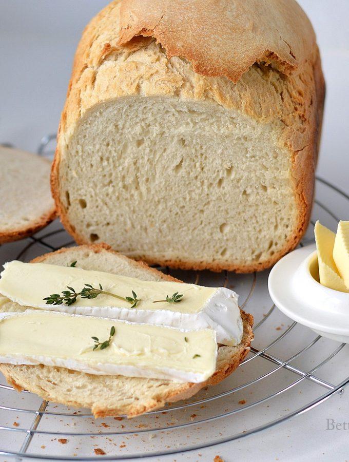 Frans brood uit de broodbakmachine recept betty's Kitchen
