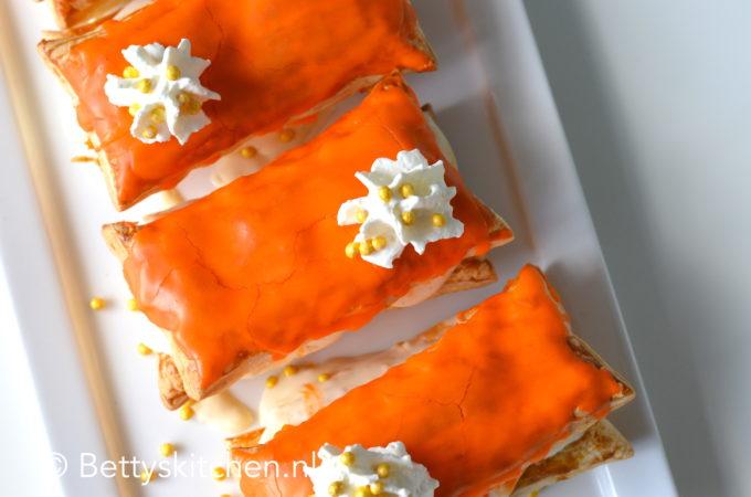 Oranje Tompouche voor Koningsdag