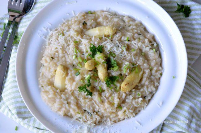 recept risotto met witte asperges bettys kitchen