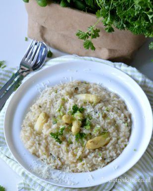 recept risotto met witte asperges bettys kitchen