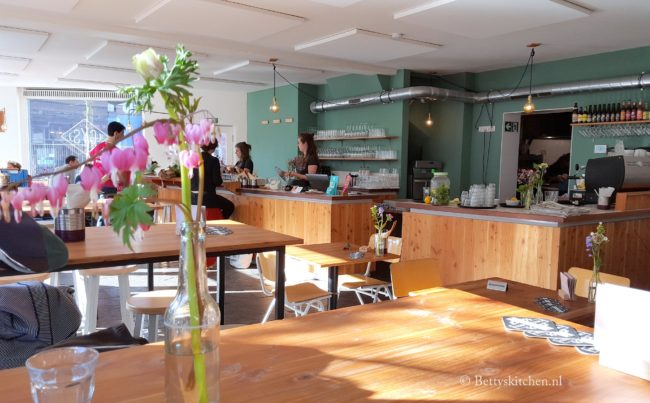 Biologisch Restaurant GYS in Utrecht hotspot review betty's kitchen