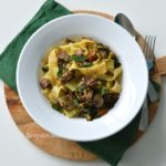 recept pasta pappardelle met stoofvlees magere runderlappen Betty's Kitchen