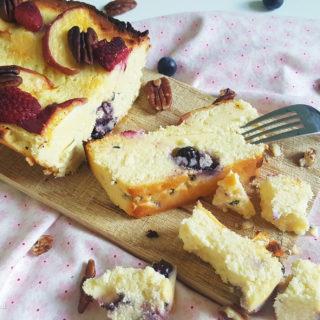 Kwarkcake met zomerfruit 1