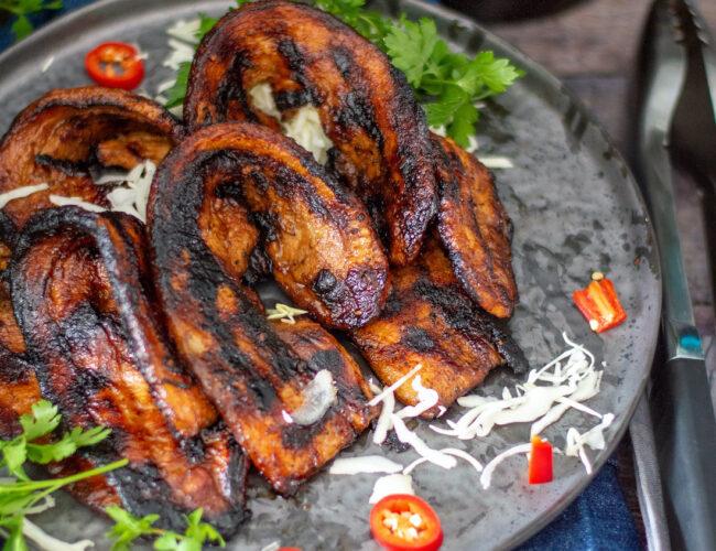 recept voor zoete speklapjes van de barbecue ©bettyskitchen.nl