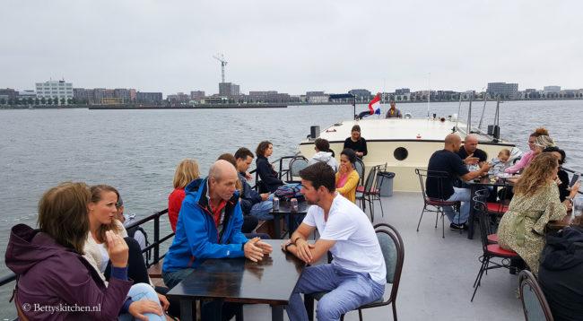 Naar Pampus vanaf Amsterdam IJburg Proef Pampus