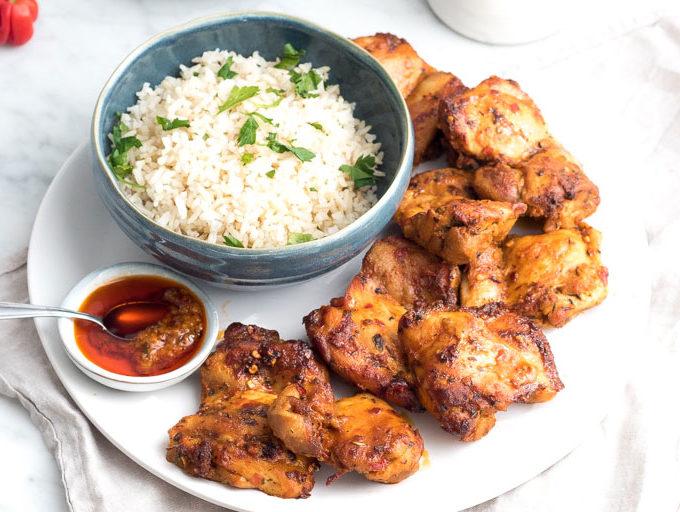 recept kip piri piri homemade