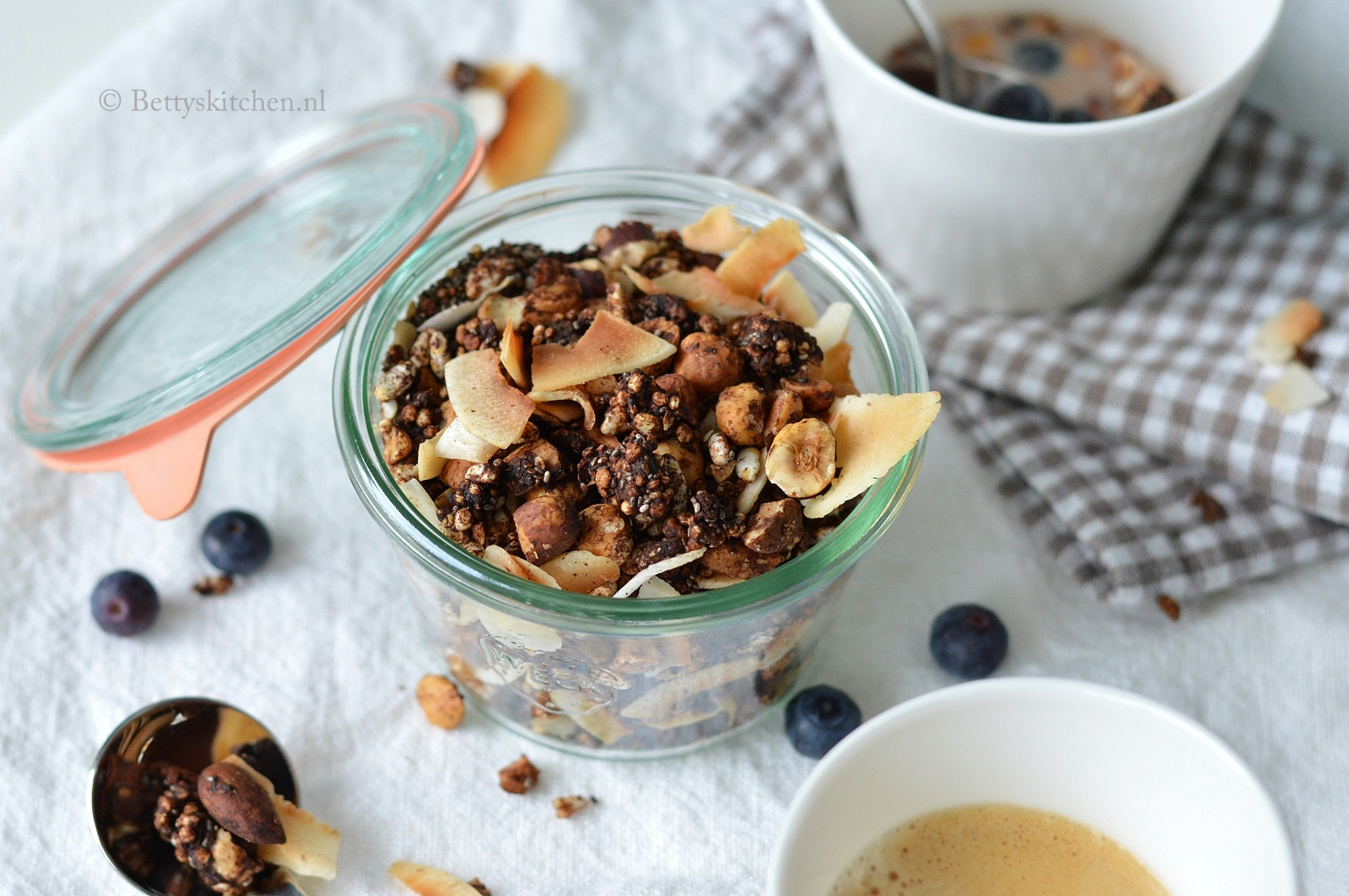 Chocolade Granola met Quinoa