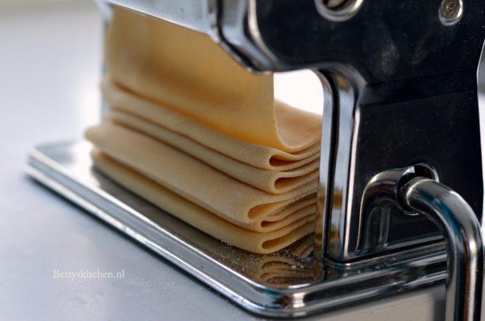 Basisrecept pasta maken