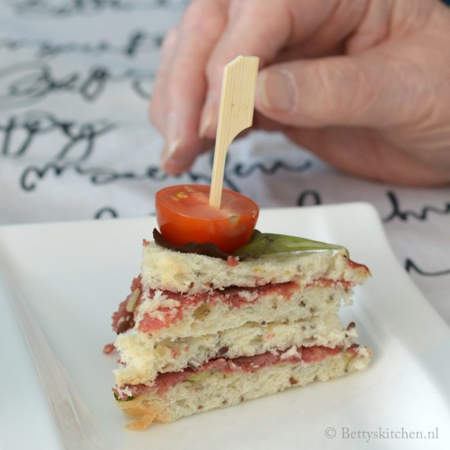 recept 3x high tea sandwiches glutenvrij schär betty's kitchen