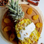 recept zoete Risotto met ananas en bakbanaan Betty's Kitchen
