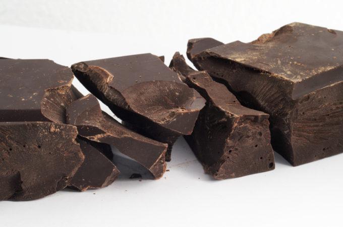 Gezond snoepen met pure chocolade