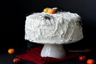 Spinnenweb taart