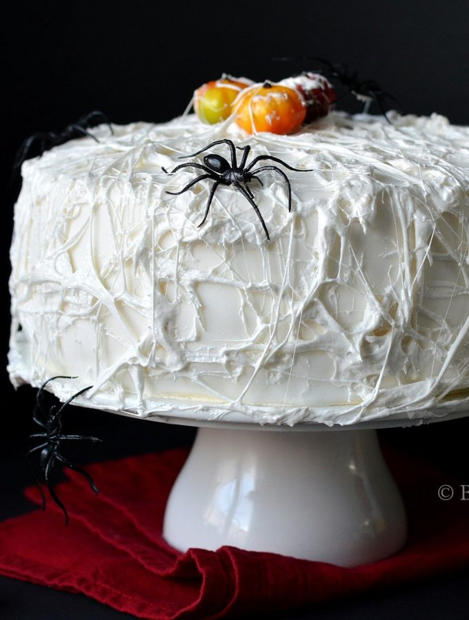 spinnenweb taart voor halloween recept betty's kitchen