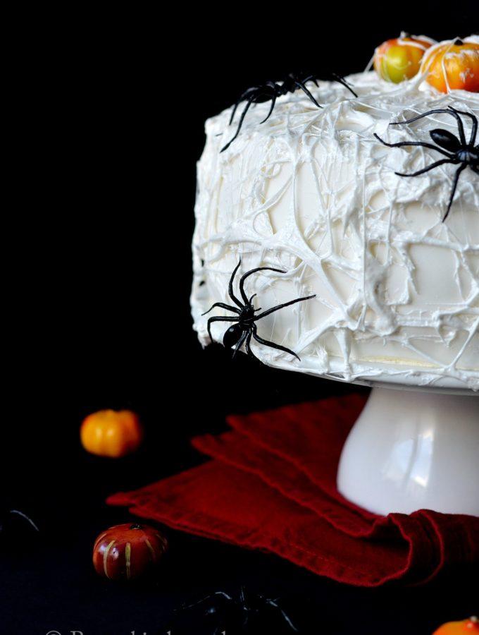 spinnenweb taart voor halloween recept betty's kitchen