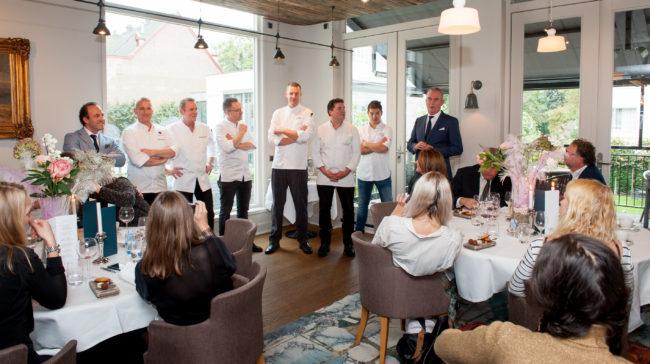 Escoffier dagen in The Park Rotterdam Bildenberg Parkhotel Perslunch review Betty's Kitchen