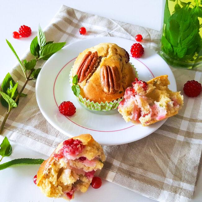recept muffins met bessen en munt © bettyskitchen