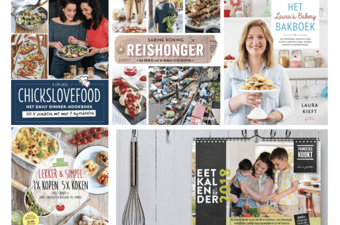 foodbloggers kookboeken tips 2017