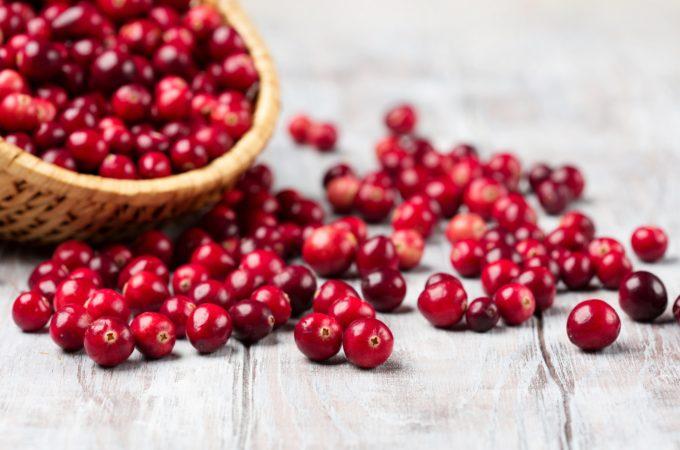 Gezond de feestdagen in met cranberry's