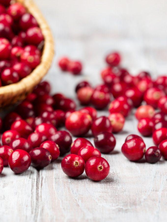 Ga gezond de feestdagen in met cranberry's