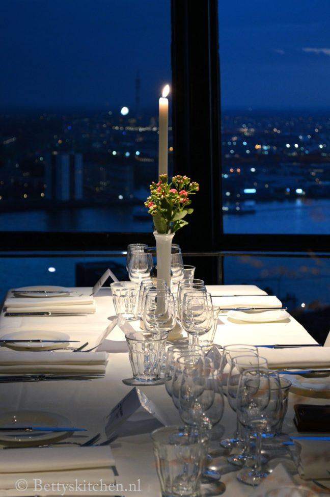 eten op de euromast rotterdam dineren op 100 meter hoogte bettys kitchen