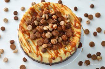 Sinterklaas Cheesecake met karamel