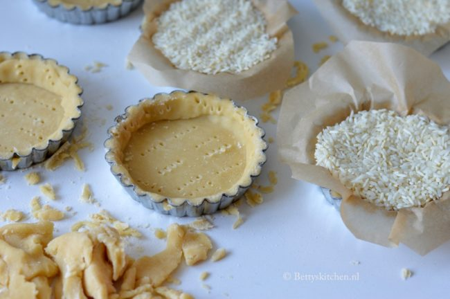 Tartelette met kerstomaten en fetaroom betty's kitchen