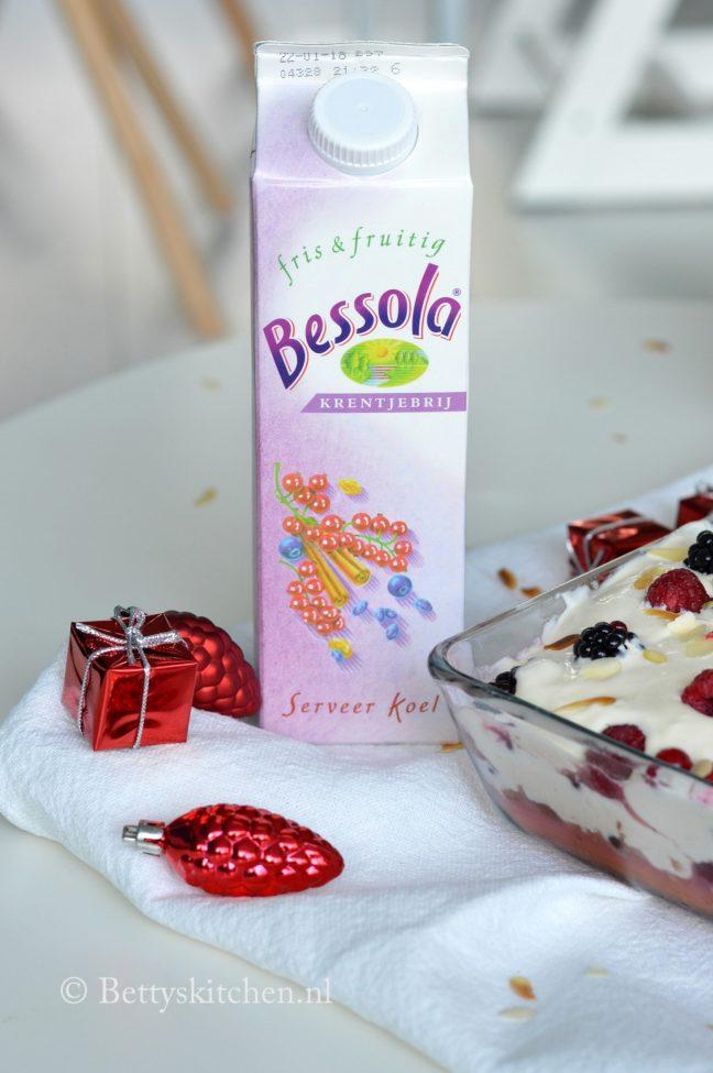 recept Tiramisu met bosvruchten en krentjebrij van bessola (watergruwel) betty's kitchen