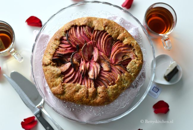 recept appelgalette met hazelnoten en Red Love Appels Betty's Kitchen