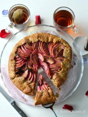 recept appelgalette met hazelnoten en Red Love Appels Betty's Kitchen