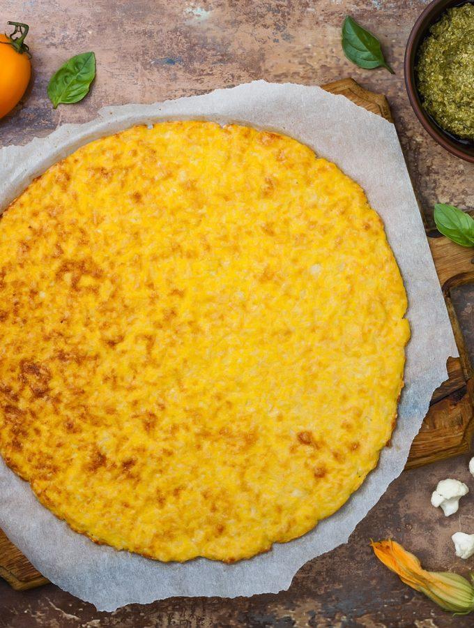 zelf bloemkoolpizza maken recept glutenvrij en low carbs betty's kitchen
