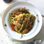 recept pasta courgetti met worst betty's kitchen