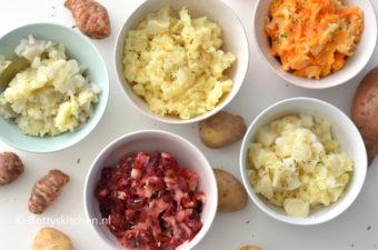 Aardappelpuree maken + variatie recepten