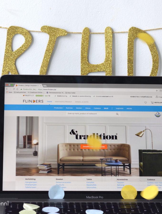 BK 5 jaar winactie: shoppen bij flinders design