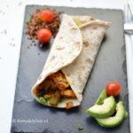 recept Burrito met kip en quinoa betty's kitchen